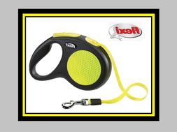 neon safety plus retractable 16 tape leash