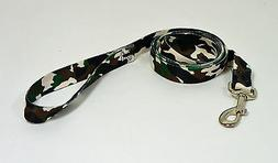 "NEW 6' Dog Camouflage Leash Lead 1"" W - Large"