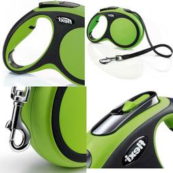 FLEXI New Comfort Retractable Dog Leash , 26 ft, Large, Gree