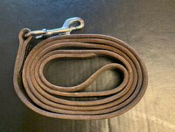 NEW Dean Tyler Thick Leather 6-foot Dog Leash