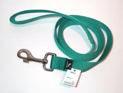 "NEW Premier Dog Leash <> 1"" x 6 ft <> TEAL"