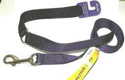 """New Softouch Standard Dog Leash Purple 5/8"""" x 4'  Classic Ny"""