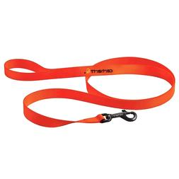 New Carhartt Tradesman 6' Nylon Dog Leash Color Brite Orange