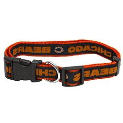 Pets First NFL Chicago Bears Collar, Large