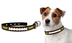 NFL Green Bay Packers Classic Leather Football Collar, Small