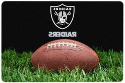 NFL Oakland Raiders Classic Football Pet Bowl Mat, Large