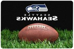 NFL Seattle Seahawks Classic Football Pet Bowl Mat, Large
