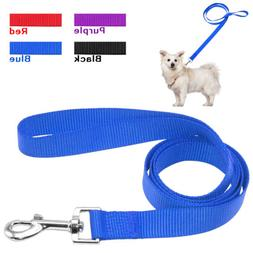 "Nylon Durable Dog Leash Pet Leads 48"" Length Soft for Small"