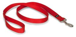"PetSafe Nylon Leash, 1"" x 4', Red"