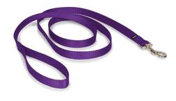 "PetSafe Nylon Leash, 3/4"" x 6', Deep Purple"