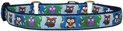 Up Country Owl Martingale Dog Collar - X-Large