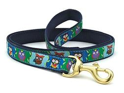 Up Country Owls Dog Leash - 4 Ft Wide