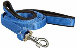 Nylon Padded Double Handle Dog Leash Warranted Replaceable S