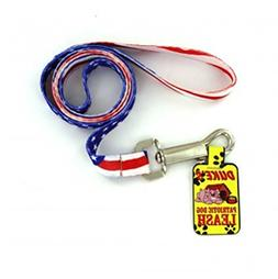 Kole Patriotic Red, White and Blue Dog Leash, 47 Inches Long