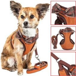 Pet Life 'Pawsh' 2-in-1 Fashion Dog Harness-Leash with Desig