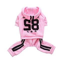 Letdown Pet Clothes,Puppy Hoodie Sweater Dog Coat Warm Sweat