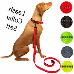 Nylon Dog Collar and Leash Pet Supplies Dog Harness Collar L