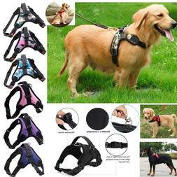 Pet Dog Vest Harness Leash Collar Set No Pull Adjustable Sma