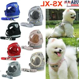 pet small dog puppy harness breathable mesh