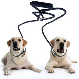 Peteast Double Dog Leash, Dual Dog Leash 360° Swivel Durabl