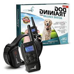 PetTech Remote Controlled Dog Training Collar Rechargeable A
