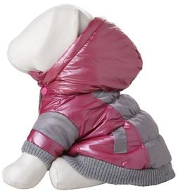 Pet Life Pink Vintage Aspen Dog Ski Coat XS