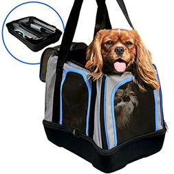 MyDeal Pop Up Pet Bag Carrier Crate with Weather Resistant O