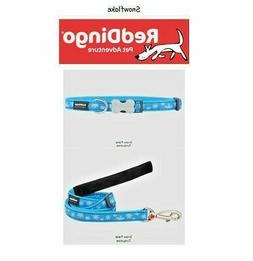 Premium Red Dingo Dog Collars & Leashes - Snowflake -  Pick