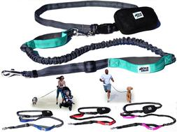 Black Rhino - Premium Hands Free Dog Leash for Running Walki