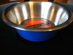 ProSelect Stainless Steel Classic Dog Bowl, 52-Ounce, Blue