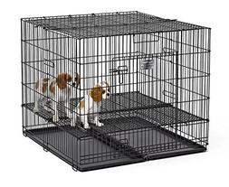 "MidWest Puppy Playpen with 1 Inch Mesh Floor Grid, 36""L"