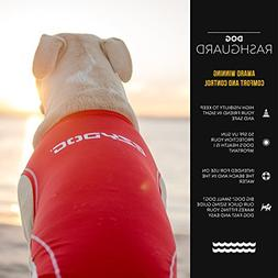 EzyDog Rashguard Vest - Premium Dog Shirt Allowing All-Day W