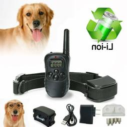 OxGord Rechargeable Waterproof LCD 100LV Shock Remote Pet Ba