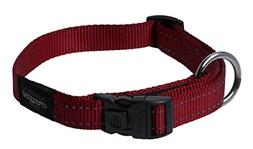 Reflective Dog Collar for Large Dogs, Adjustable from 13-22