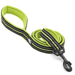 Reflective Dog Leash Puppy Walking Lead, Padded Pet Chain Ro