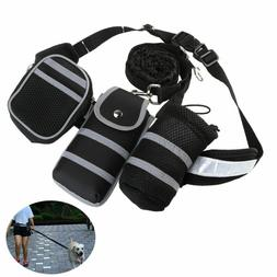 Reflective Dog Pet Leash Lead Hands Free for Exercise Run Wa