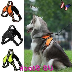 Reflective Large Dog  Leash Harness Pet Collar for Labrador