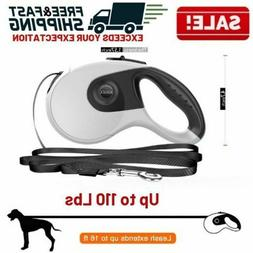 retractable dog leash heavy duty large pet