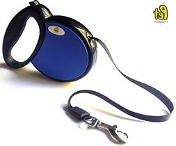 Retractable Dog Leash - Ribbon Style Dog Lead Does NOT Burn