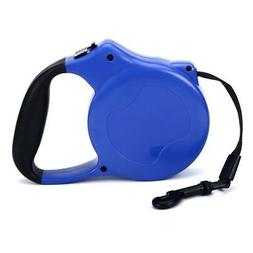 Retractable Dog Leash - Up to 55 lbs. and 16' Rope Lead