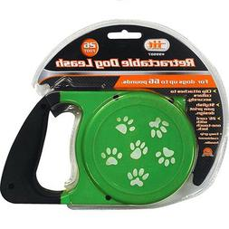 RETRACTABLE DOG PET LEASH  UP TO 66 LBS 26' FEET ROPE CORD L