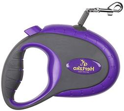Hertzko Retractable Nylon Dog Leash for Small & Medium Dogs