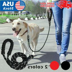 Retractable nylon rope Dog Leash for large dog Heavy duty co