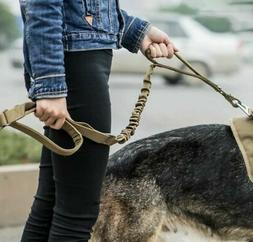 USA Retractable Nylon Rope Dog Leash Tactical For Large Dog
