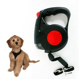 New 14.5 FT Retractable Pet Dog Leash With LED Flash Light H
