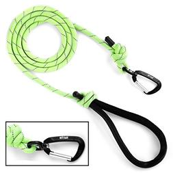 Mighty Paw Rope Dog Leash, Premium Climbers Rope, 6 Foot Lon