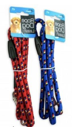 Rope Dog Leash Rope Material 4 Feet Heavy Duty Pack of 2