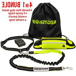 REGYSHOP Running Retractable Dog Leash - Hands Free Dog Leas