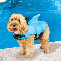 Swimways Sea Squirts Dog Life Vest w/ Fin for Doggie Swimmin