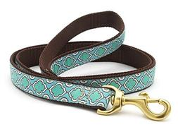 Up Country Seaglass Dog Leash - 4 Ft Wide